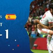 خلاصه بازی دیشب ایران و اسپانیا