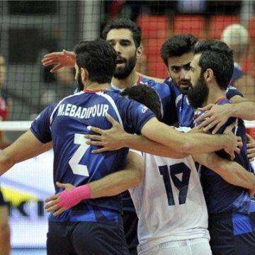 لیگ ملتهای والیبال ۲۰۱۸/ پیروزی ایران در برابر کره جنوبی