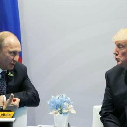 دیدار حساس امروز در هلسینکی؛ گفتگوی خصوصی ترامپ و پوتین