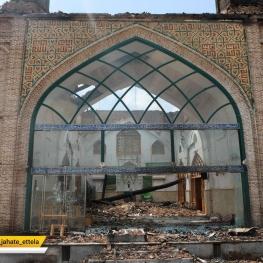 ۷۰ درصد سازه تاریخی مسجد جامع ساری سالم است