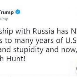 ترامپ چند ساعت قبل از نشست با پوتین