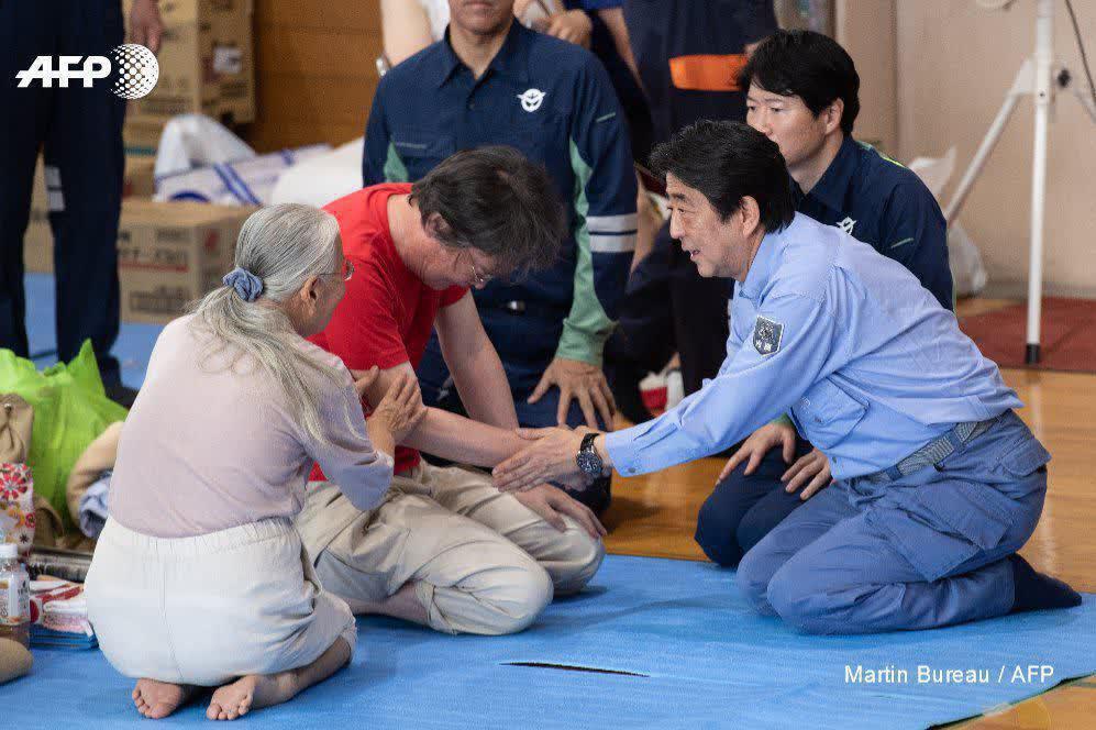 تلفات سیل بیسابقه در ژاپن به ۱۷۹ نفر رسید