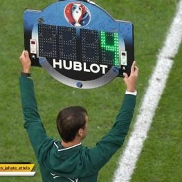در فصل آینده لیگ قهرمانان و لیگ اروپا در صورت کشیده شدن بازی به وقت های اضافی، تعویض چهارم ممکن است