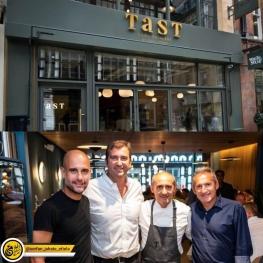 گواردیولا رستوران خود را با نام TAST در شهر منچستر افتتاح کرد