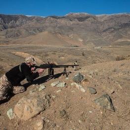 قرارگاه نجف اشرف سپاه يك تيم تروريستي را در منطقه شمالغرب مورد هدف قرار داد