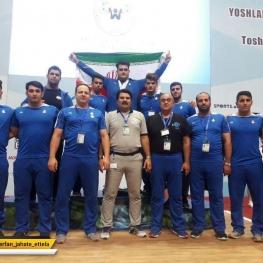 تیم وزنه برداری جوانان ایران برای سومین سال متوالی قهرمان جهان شد