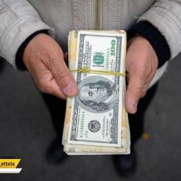 دلار تلفنی بازار سیاه امروز با روند کاهشی نسبت به روز گذشته ۸۱۱۰ تومان است