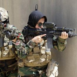 تصویر روز: زنان کماندو در نیروهای ویژه ارتش افغانستان