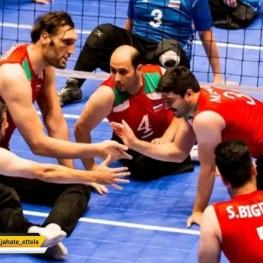 ایران به نیمه نهایی والیبال نشسته قهرمانی جهان صعود کرد