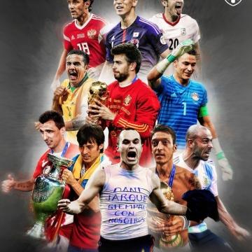 بازیکنانی که بعد از جام جهانی ۲۰۱۸ از بازیهای ملی خداحافظی کردند.