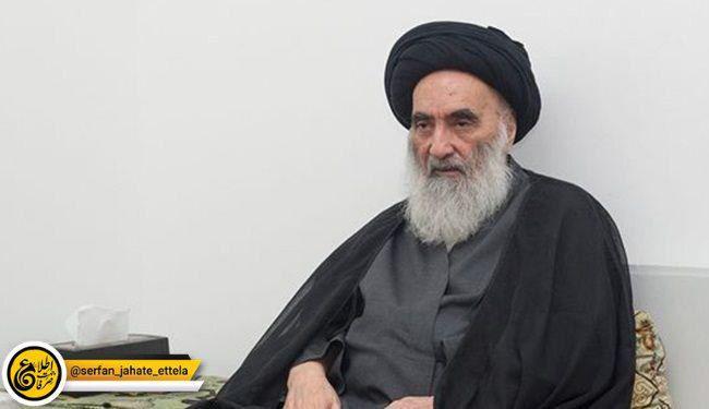آیت الله سیستانی، مرجعیت دینی عراق مردم را به افزایش تظاهرات صلح آمیز فرخوانده