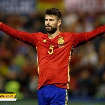 پیکه از تیم ملی اسپانیا خداحافظی کرد