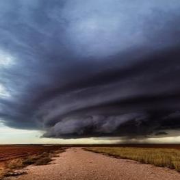 توفان تندری در نزدیکی تکزاس – آمریکا