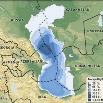 ادعای عامیانه سهم ۵۰ درصدی ایران از دریای خزر