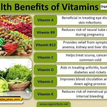 هر ویتامین را چه ساعتی بخوریم تا جذب شود؟