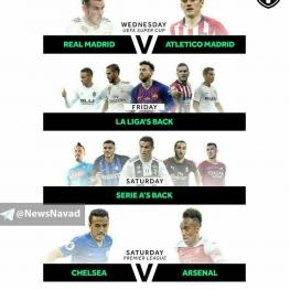 بازیهای جذاب این هفته فوتبال اروپا
