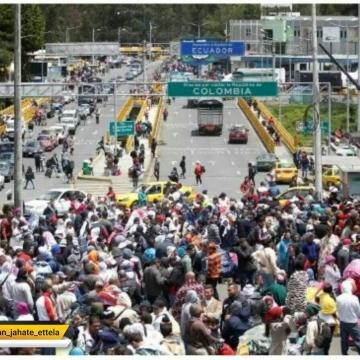فرار هزاران نفر از مردم ونزوئلا از بحران اقتصادی به کشورهای همسایه