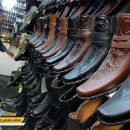 مواد اولیه کفش یک سال ایرانیان در انباری کشف شد