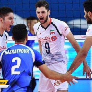 تیم ملی والیبال ایران به فینال رقابتهای والیبال جام کنفدراسیونهای آسیا صعود کرد