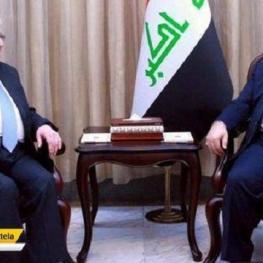 رئیس جمهور عراق: حیدر العبادی تابع تصمیمات آمریکا نیست