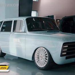 رونمایی کلاشنیکف روسیه از اولین خودروی برقی