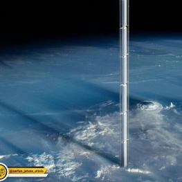آسانسور فضایی به ارتفاع ۳۶ هزار کیلومتر را جهت انتقال افراد به مدار زمین