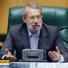 لاریجانی: لوایح پولشویی و مبارزه با جرائم سازمانیافته در مجمع تشخیص مصلحت بررسی میشود