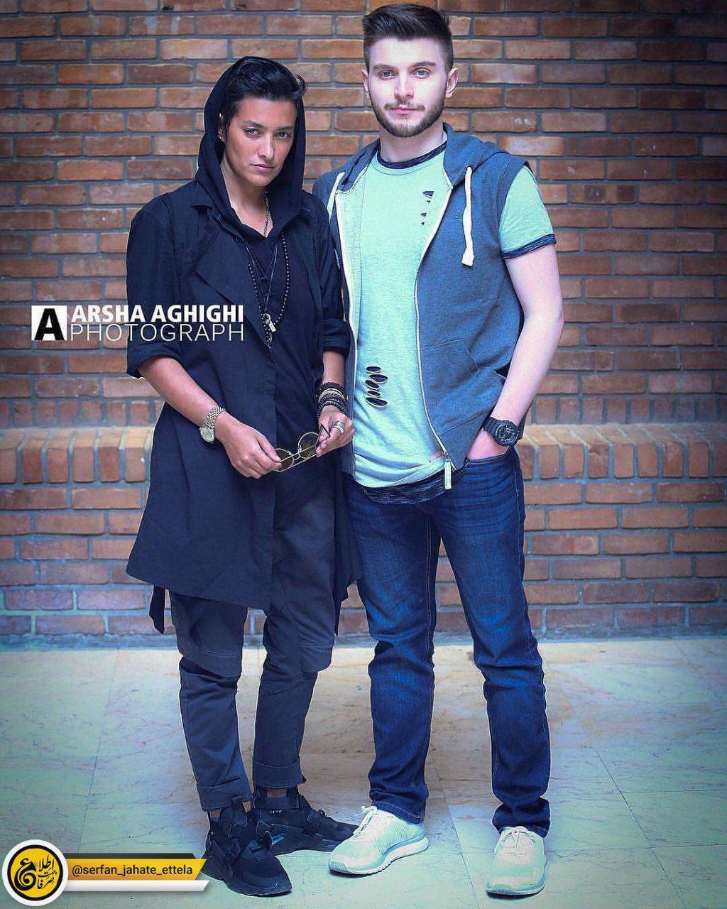 اینستاگرام گردی: دارا حیایی و مادرش مونا بانکی پور (پسر و همسر سابق امین حیایی)
