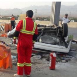 تصادف مرگبار در اتوبان کرج_قزوین