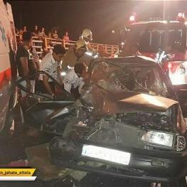 تصادف در محور زنجان بیجار