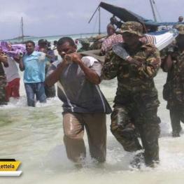 یک کشتی تفریحی در دریاچه ویکتوریا در تانزانیا غرق شد