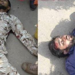 اولین تصویر منتشر شده از دو عضو گروهک تروریستی