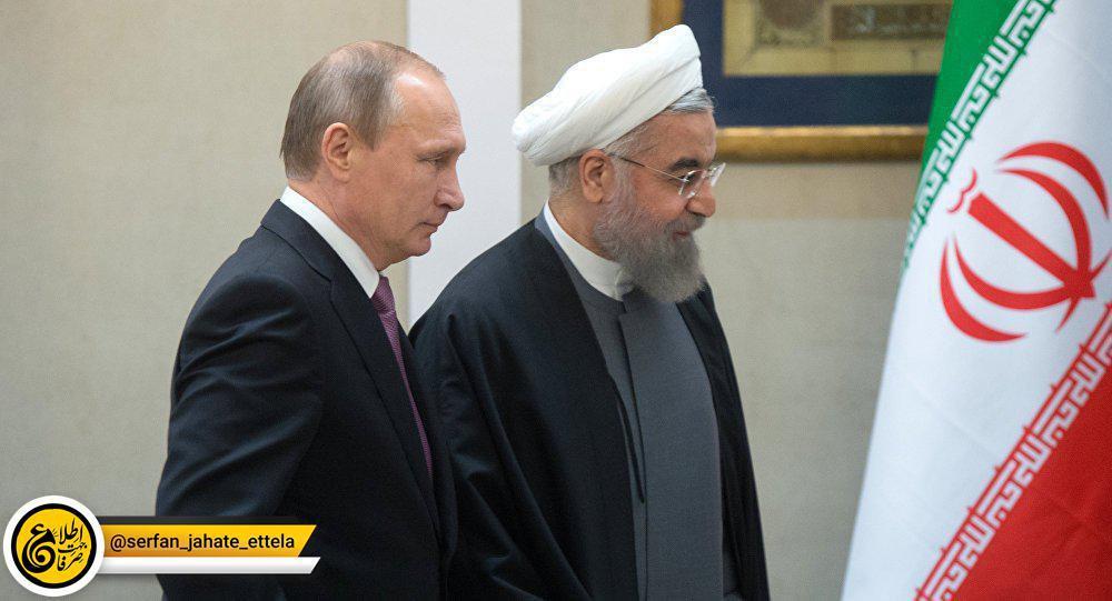 پوتین ضمن تسلیت جان باختن شهروندان ایرانی در حادثه تروریستی اهواز خطاب به روحانی