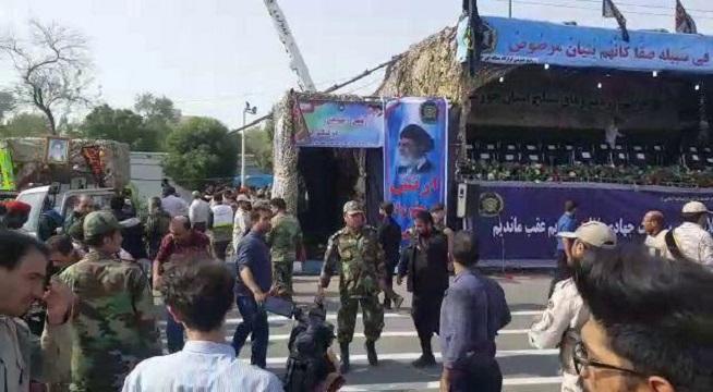 مسوولان خوزستان حاضر در رژه نیروهای مسلح اهواز در سلامت هستند