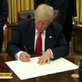 ترامپ راهبرد جدید امنیت سایبری آمریکا را امضا کرد