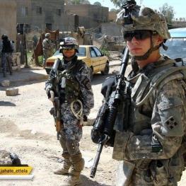 آمریکا مقرهای نیروهای مردمی عراق را در الانبار هدف قرار داد