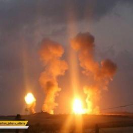 هواپیمای اسراییل شرق غزه را هدف قرار داد