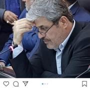 پست اینستاگرامی تاج گردون (رئیس کمیسیون برنامه و بودجه مجلس):