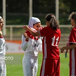 دیدار دوستانه فوتبال زنان / جوانان ایران و اردن