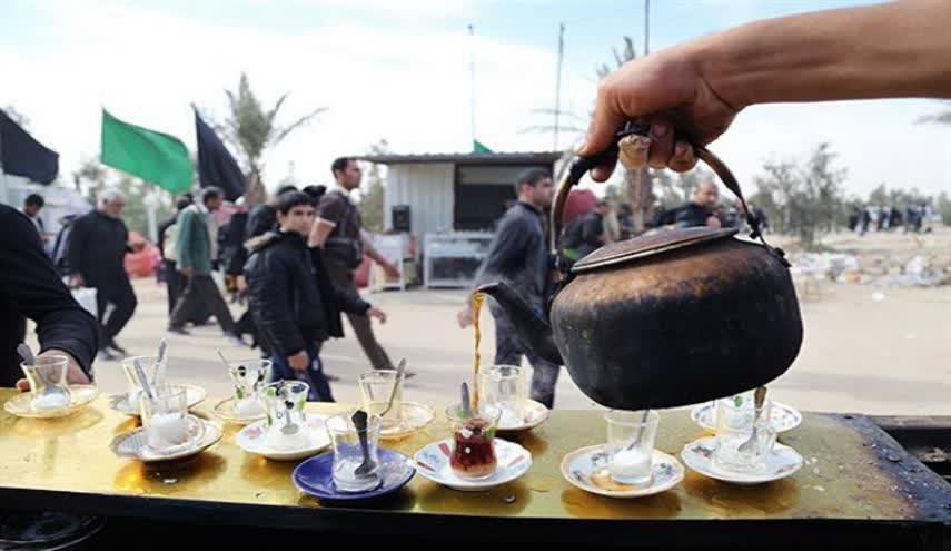 خدمات دهی ۵۰۰ موکب ایرانی در کربلا