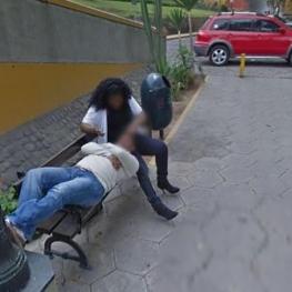 استریت ویو خیانت یک زن پرویی در ۵ سال پیش را فاش کرد