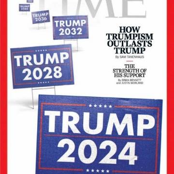 جلد نشریه تایم  بقای «ترامپیسم» بعد از ترامپ