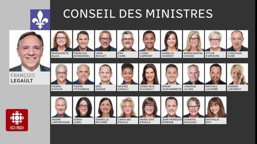 کابینه دولت جدید منطقه کبک کانادا