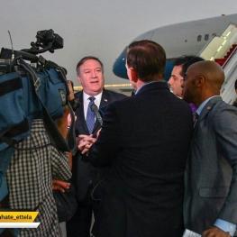 وزیر خارجه آمریکا وارد ترکیه شد