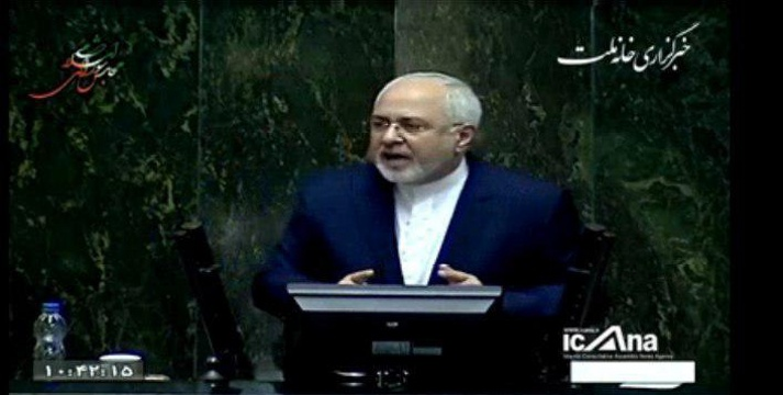 ظریف امروز در مجلس: نه من و نه آقای رئیس جمهور نمی توانیم تضمین بدهیم که با تصویب FATF همه مشکلات مالی حل میشود