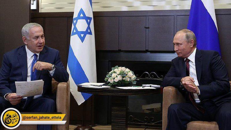بنیامین نتانیاهو،: در آینده نزدیک با ولادیمیر پوتین درباره مسائل ایران و روسیه گفتگو خواهم کرد
