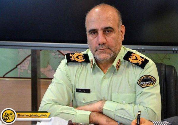 فرمانده انتظامی پایتخت: کمین ماموران پلیس در تهران ممنوع بوده