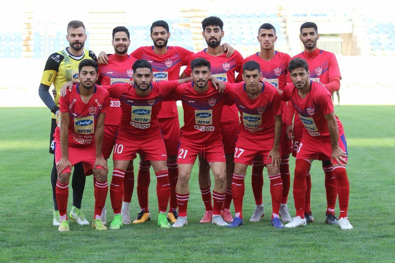 تیم فوتبال 'پرسپولیس' امروز در دیداری دوستانه به مصاف 'منصور ساوه' رفت