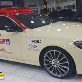اولین تاکسی بدون راننده و خودران در نمایشگاه تکنولوژی جیتکس دبی
