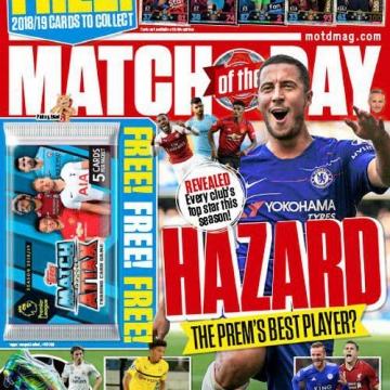 جدیدترین شماره ازمجله مشهور #ورزشی  Match of the Day